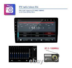 Android 9.1 Car Stereo Double DIN GPS Navigation Bluetooth WiFi FM Radio 10 inch