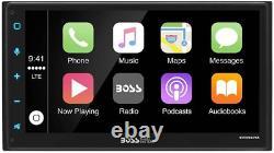 Bluetooth Gps Navigation Boss Audio System Apple Carplay Android Auto Car Radio