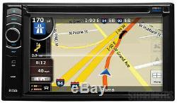 Boss Bv9386nv Car 2 Din 6.2 Touchscreen DVD CD Player Gps Navigation Bluetooth
