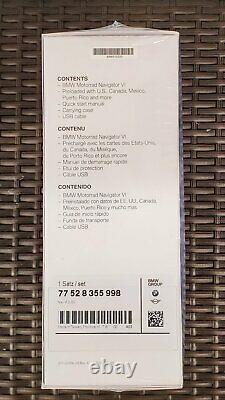 Brand New Factory Sealed BMW Motorrad Navigator VI Gps Nav 6 by Garmin