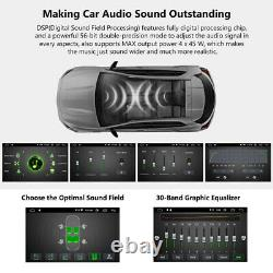 CAM+For VW Volkswagen passat B7 9Android 10 Car Stereo GPS Navigation Radio DSP
