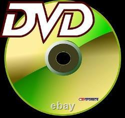 CHEVY-GMC GPS NAVIGATION Cd Dvd Bluetooth Radio Stereo Double Din Dash Kit Car