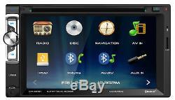 CHEVY-GMC GPS NAVIGATION SYSTEM Cd Dvd USB AUX VIDEO Bluetooth Car Radio Stereo