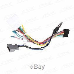 Camera GPS Car Radio Stereo USB CD DVD Bluetooth Navigation System Screen Mirror