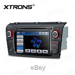 Car GPS Navigation DVD Radio Bluetooth For Mazda 3 2004 2005 2006 2007 2008 2009