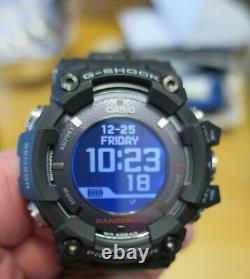 Casio G-Shock GPR-B1000 Rangeman Solar GPS Navigation Bluetooth Sapphire Atomic