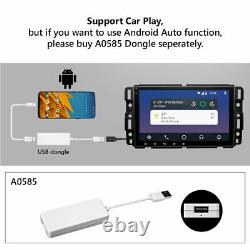 Double Din Android 10 8 Car Stereo GPS Navigation Touch For Chevrolet GMC CAM