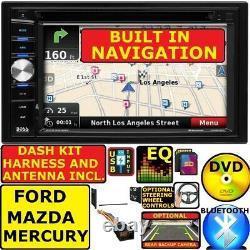 FORD MERCURY MAZDA GPS NAVIGATION SYSTEM Bluetooth DVD USB BT CAR Radio Stereo