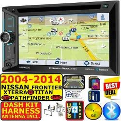 Fits 2004-14 Nissan Truck Suv Navigation Bluetooth Usb Cd/dvd Radio Stereo Pkg