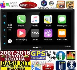 Fits / For 07-16 Tundra-sequoia Navigation Apple Carplay Android Auto Stereo Pkg