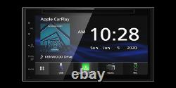 For 00-15 Toyota & Scion Jvc Kenwood Navigation Carplay Android Auto Car Stereo