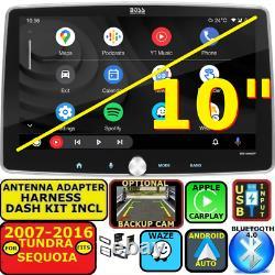 For 07-16 Tundra-sequoia Nav Bluetooth Apple Carplay Android Auto Car Radio