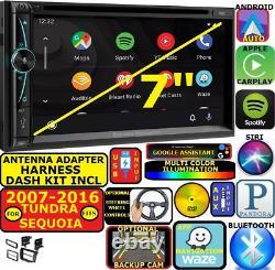 For 07-16 Tundra-sequoia Nav Bluetooth Cd/dvd Carplay Android Auto Car Radio