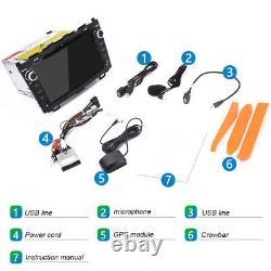 For 2007-2011 Honda CRV 8 Car DVD GPS navigation player Radio Stereo Bluetooth