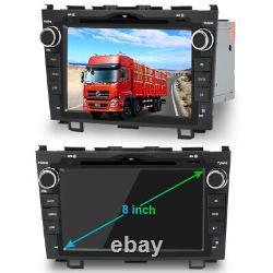 For 2007-2011 Honda CRV 8 navigation Car DVD GPS player Radio Stereo Bluetooth