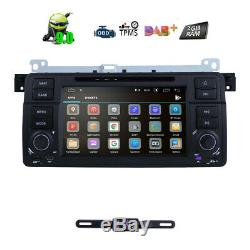 For BMW E46 M3 Car Stereo DVD Player 7 Android Radio GPS Navigation Bluetooth E