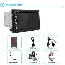For Ford F150 Edge 7 2Din Car Stereo Radio DVD Player Bluetooth GPS Navigation