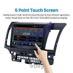 For Mitsubishi Lancer Android 8.1 Car GPS Navigation Radio Stereo Bluetooth Wifi
