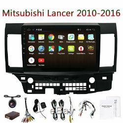 For Mitsubishi Lancer Android 9.0 Car GPS Navigation Radio Stereo Bluetooth Wifi