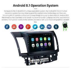 For Mitsubishi Lancer Car GPS Navigation Radio Stereo Bluetooth WifiRear Camera