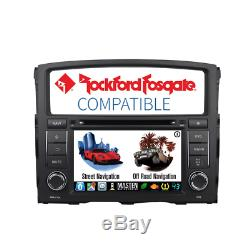 -For Mitsubishi Pajero 2006-16 GPS Navigation AM/FM Bluetooth Stereo DVD Player