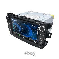 For Toyota COROLLA 2007-2011 8 GPS Navigation Car DVD Player Radio Bluetooth HD