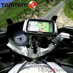 GENUINE TomTom Rider 550 Motorcycle GPS Bluetooth Navigation IPX7 Lifetime Maps