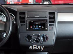 GPS Navigation 2Din HD Car Stereo DVD CD Player Bluetooth FM Radio iPod+Free Map