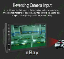 GPS Navigation Bluetooth Radio Double 2Din Car Stereo Andorid8.1 Player +Camera