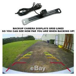 GPS Navigation Bluetooth Stereo+Backup Camera+Chevy Silverado Radio Dash Kit