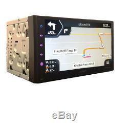 GPS Navigation/Bluetooth USB Stereo+Backup Camera+Toyota Tundra Radio Dash Kit
