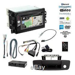 GPS Navigation USB Bluetooth Stereo+Backup Camera+13-17 Dodge Ram Radio Dash Kit