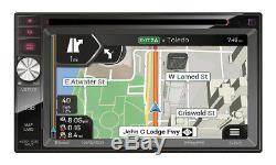 GPS Navigation USB Bluetooth Stereo+Backup Camera+Jeep Wrangler Radio Dash Kit