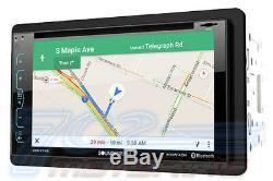 Gm Car-truck-van-suv Gps Navigation Cd/dvd Bluetooth Radio Stereo Double Din