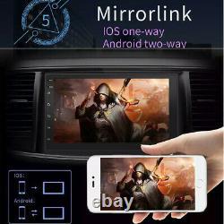 HD 7 inch Head Unit Android 8.1 GPS Navigation Car Stereo Radio Bluetooth Camera