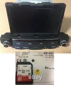 Hyundai Tucson 2 Gps Car Navigation Radio Navi Sat Nav 96560-d71004x