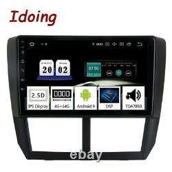 Idoing Car Android Radio Player For Subaru Forester 2008-2012 PX5 GPS Navigation