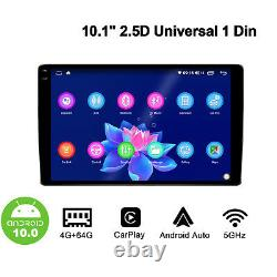 JOYING 10.1 Inch 1280800P Android Auto Radio with Android 10 GPS Navigation BT