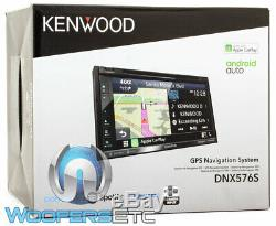 Kenwood Dnx576s 6.75 CD DVD Navigation Bluetooth 13 Band Eq Gps Car Stereo New