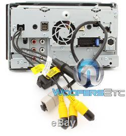 Kenwood Dnx875s 6.95 CD DVD Gps Apple Carplay Navigation Bluetooth Wifi Youtube