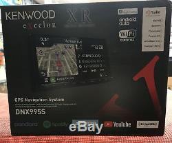 Kenwood Excelon Dnx995s 6.75 CD DVD Bluetooth Gps Wifi Hd Radio Navigation Waze