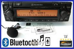 Mercedes Audio 30 APS mit Bluetooh + Mic AUX Neu Potis BE4715 Becker Navigation