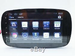 Multimedia Monitor Navigation System Android Stereo For Smart Car Fortwo 453