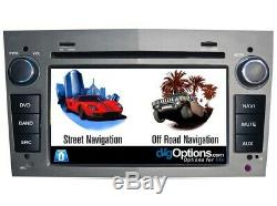 Navigation Head Unit DVD GPS Bluetooth Stereo Radio For Holden Astra AH 2005-09