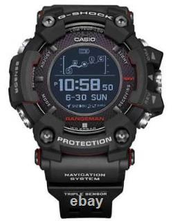New Casio G-Shock Rangeman Solar GPS Navigation Bluetooth Watch GPRB1000-1