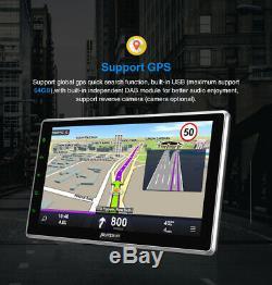 PUMPKIN 10.1 2 DIN Andorid 9.0 Car Radio GPS Navigation Bluetooth USB OBD2 DAB+
