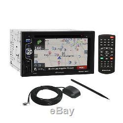 Planet Audio DVD USB GPS Stereo Dash Kit Harness for 07-14 Chrysler Dodge Jeep