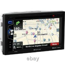 Planet Audio Double 2 Din Gps Navigation Car Stereo DVD Player Bluetooth 6.5