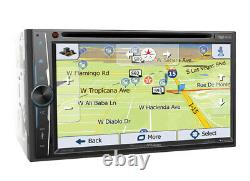 Precision Power 2 Din 7 Touchscreen Monitor DVD Bluetooth Stereo Gps Navigation
