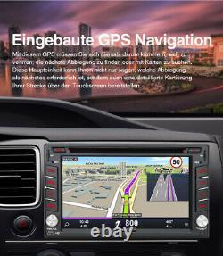 Pumpkin Autoradio mit Navigation NAVI Bluetooth USB GPS 2 Doppel DIN RDS Kamera